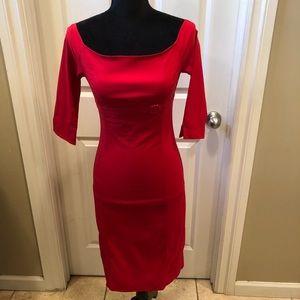 Zara Basic red dress size M
